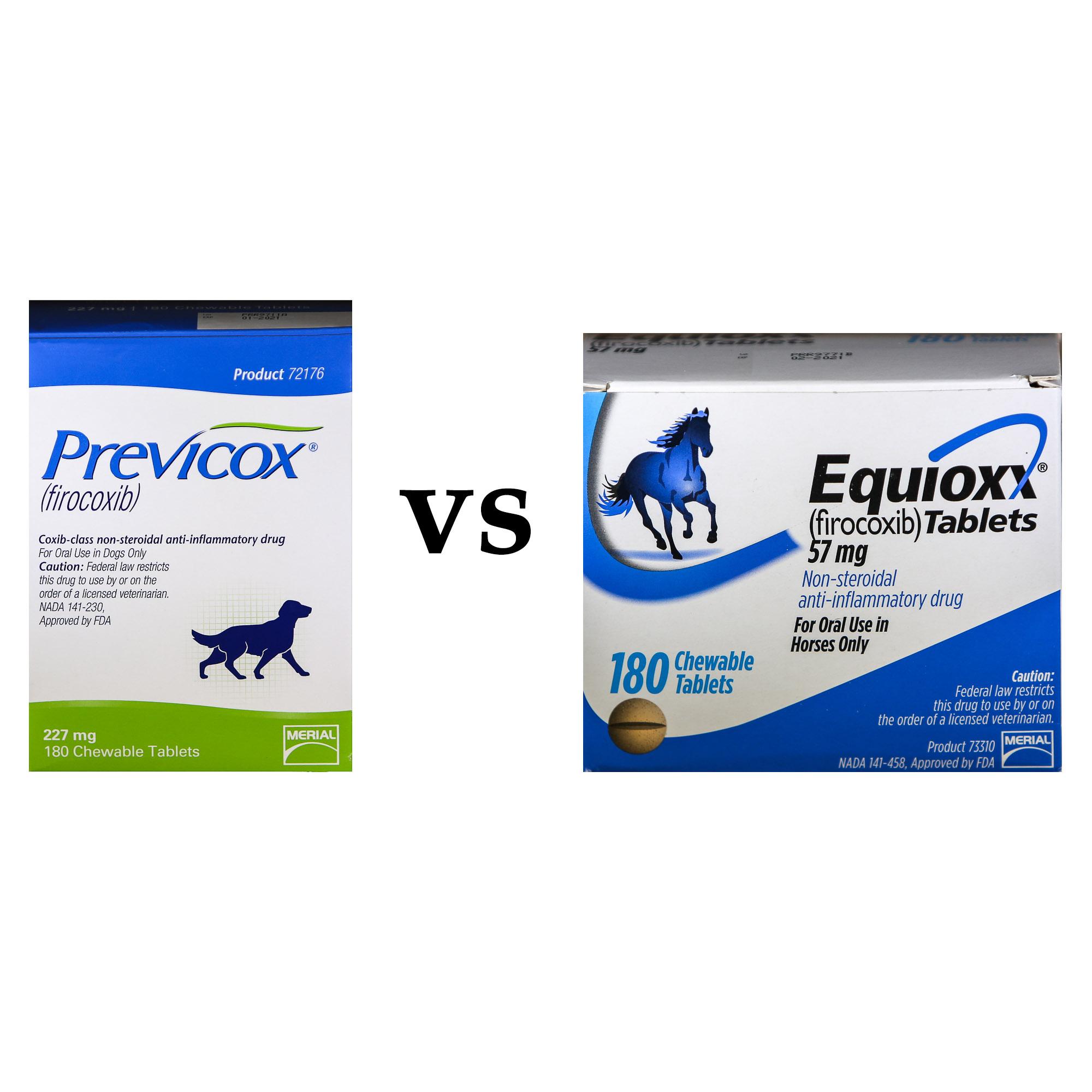 Equioxx vs. Previcox